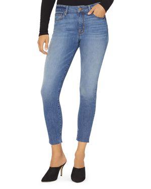 Social Glamour Skinny Ankle Jeans In Arrowhead Blue