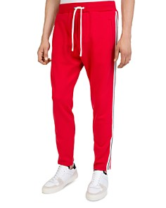 The Kooples - Vintage Side-Stripe Tapered Sweatpants