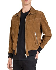 The Kooples - Suede Leather Jacket