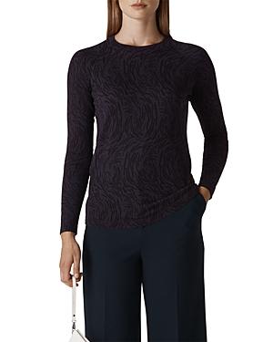 Whistles Animal Print Sweater