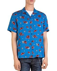 The Kooples - Hawaiian Night Camp Shirt
