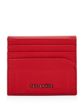Ted Baker - Wonder Micro Textured Leather Card Holder