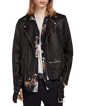 ALLSAINTS - Wick Leather Biker Jacket