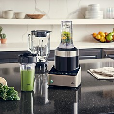 Braun - Puremix Power Blender with Thermal Resistant Glass Jug & Smoothie2Go Blending Cups