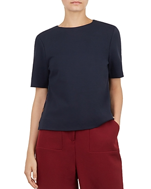 Ted Baker Colour by Numbers Jace Pleat-Back Top