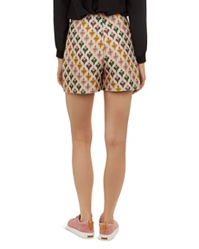 Ted Baker - Colour by Numbers Tedda Heart-Print Shorts