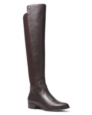 Women's Bromley Leather & Stretch Tall Boots by Michael Michael Kors