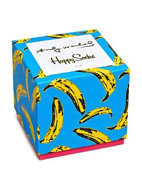 Happy Socks - Andy Warhol Socks Gift Box - Set of 4