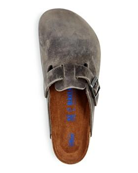 Birkenstock - Men's Boston Oiled Leather Mules