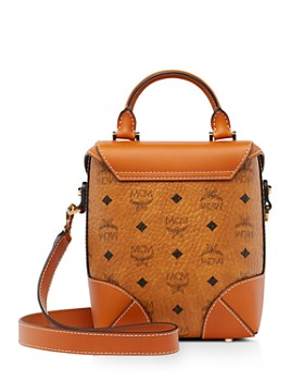 MCM - Soft Berlin Visetos Medium North/South Crossbody