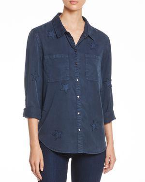 Velvet Heart Baker Star-Applique Shirt