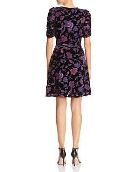 Rebecca Minkoff - Arlette Botanical Burnout Velvet Dress