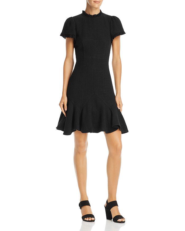 Rebecca Taylor - Ruffled Tweed Dress