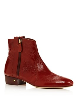 Laurence Dacade - Women's Patent Leather Ankle Booties