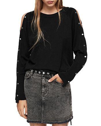 9f7f20d93fe ALLSAINTS - Suzie Snap-Sleeve Sweater