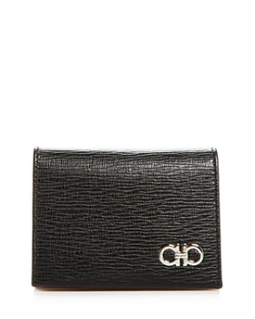 Salvatore Ferragamo - Revival Gancini Leather Bi-Fold Card Case