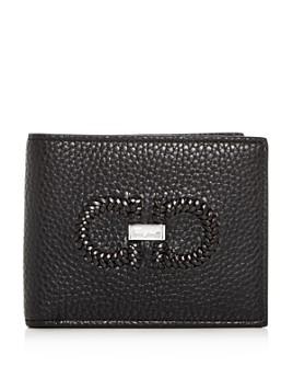 Salvatore Ferragamo - Firenze Intreccio Leather Bi-Fold Wallet