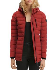 Moose Knuckles - Lightweight Hooded Down Coat