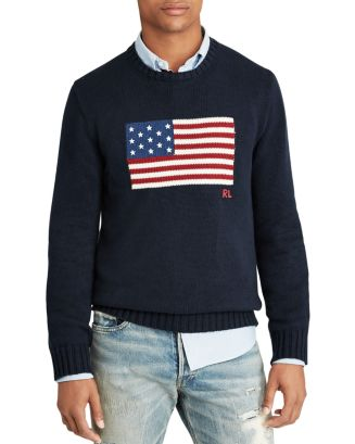 Iconic Flag Sweater by Polo Ralph Lauren