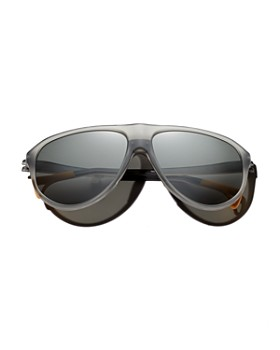District Vision - Men's Kaishiro Aviator Sunglasses, 55mm