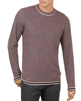 Ted Baker - Curlywu Crewneck Ribbed Sweater