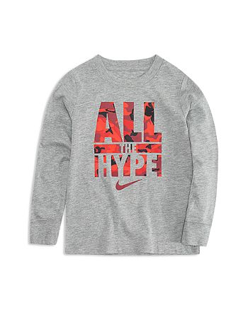 the best attitude d7a57 cb251 Nike - Boys  All the Hype Long-Sleeve Tee - Little Kid