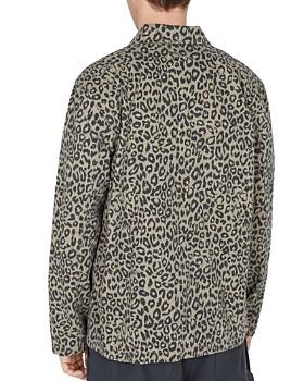 OBEY - Hard Work Leopard-Print Utility Jacket