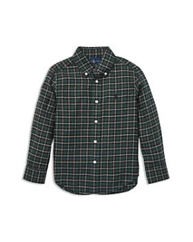 Ralph Lauren - Boys' Poplin Plaid Shirt - Little Kid