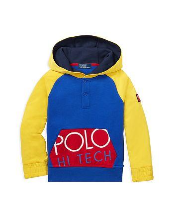 12ed2cb44 Ralph Lauren Boys  Polo Hi Tech Hybrid Hoodie - Little Kid ...