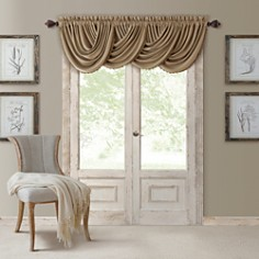 """Elrene Home Fashions All Seasons Blackout Waterfall Valance, 52"""" x 36"""" - Bloomingdale's_0"""