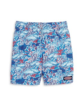 Vineyard Vines - Boys' Tuna in Coral Swim Trunks - Big Kid
