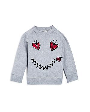 Stella McCartney Girls' Betty Lady Bug Smiley Face Sweatshirt - Baby