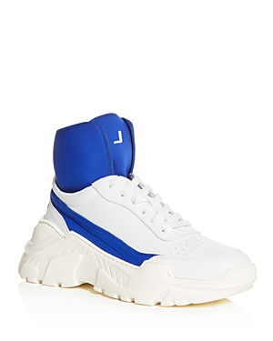 Joshua Sanders Women's Leather Lace Up Platform Sneakers