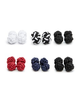 The Men's Store at Bloomingdale's - Silk Knot Cufflink Set - 100% Exclusive