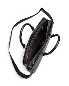 Michael Kors - Harrison Crossgrain Leather Briefcase