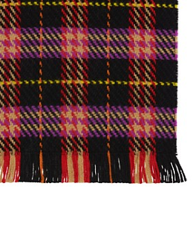 Burberry - Check Wool Scarf