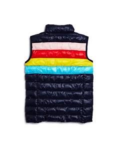 AQUA - Girls' Rainbow Packable Vest, Big Kid - 100% Exclusive