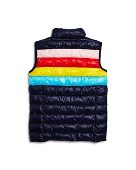 AQUA - Girls' Rainbow Packable Vest, Big Kid - 100% Exclusive