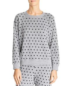 Monrow - Star Print Sweatshirt