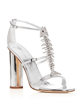 Giuseppe Zanotti - Women's Svamp Embellished High-Heel Sandals
