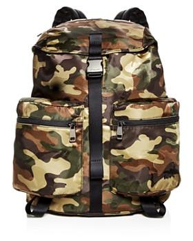 dc7a07a724965e Michael Kors - Kent Camo-Print Nylon Backpack ...