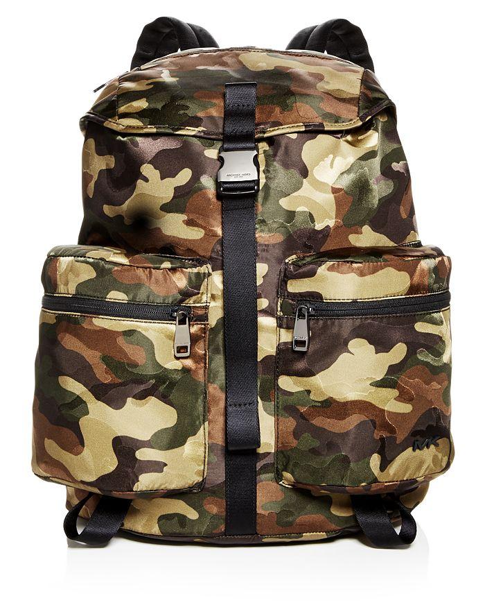 4d760b4e7792 Michael Kors - Kent Camo-Print Nylon Backpack