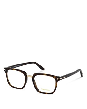 Tom Ford - Square Blue Blocker Glasses, 50mm