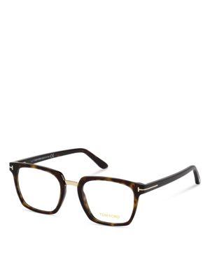 50Mm Blue Block Optical Glasses - Shiny Black, Dark Havana/Blue Block