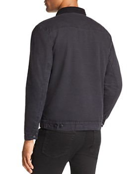 BANKS - Dash Corduroy-Collar Jacket