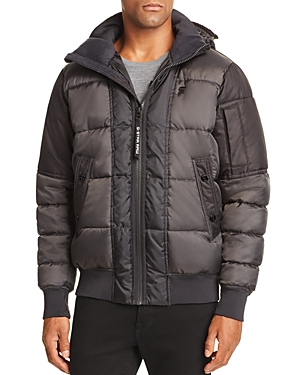 G-star Raw Whistler Quilted Hooded Bomber
