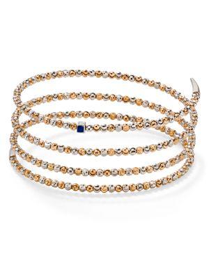 OFFICINA BERNARDI Coil Bracelet in Rose Gold