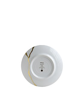 Bernardaud - Kintsugi-Sarkis 24K Gold Bread & Butter Plate