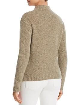 Majestic Filatures - Speckled Cashmere Mock-Neck Sweater