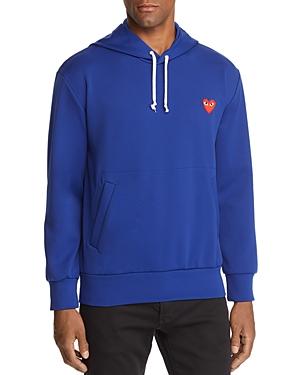 Comme Des Garcons Play Pullover Hoodie Sweatshirt